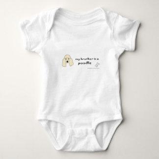 Body Para Bebê caniche