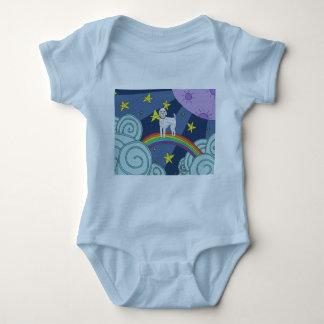 Body Para Bebê Caniche na roupa do bebê do Dreamland