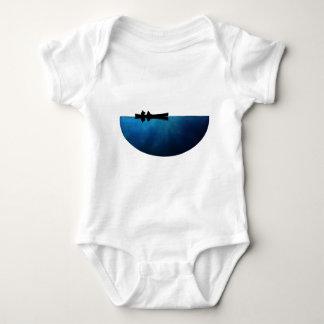 Body Para Bebê Canoa da noite