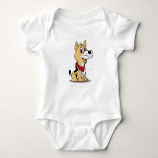 Body Para Bebê cão bonito coboy