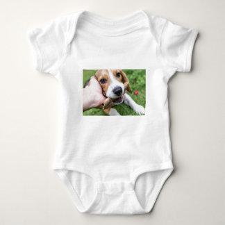 Body Para Bebê Cão com vara