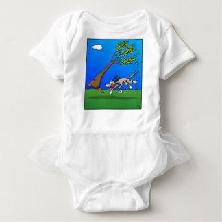 Body Para Bebê Cão cómico