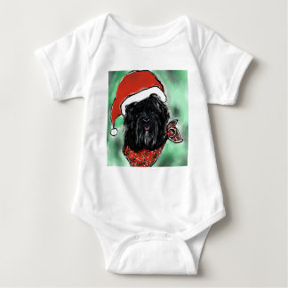Body Para Bebê Cão da seda de Havana