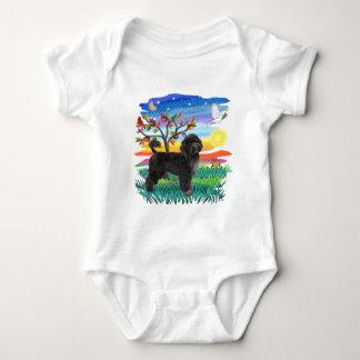 Body Para Bebê Cão de água português (#2)