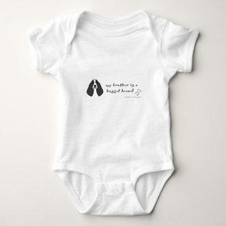 Body Para Bebê cão de basset