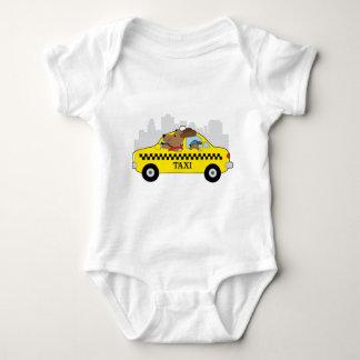 Body Para Bebê Cão do táxi de New York