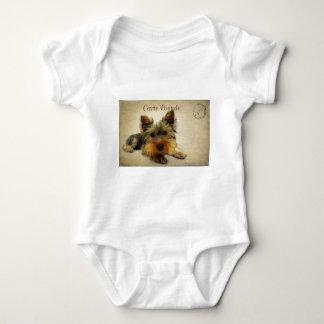 Body Para Bebê Cão do yorkshire terrier