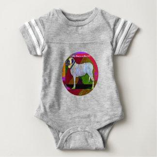 Body Para Bebê Cão grande Onsie