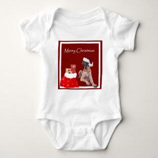 Body Para Bebê Cão great dane do Natal