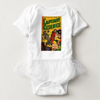 Body Para Bebê Capitão Ciência