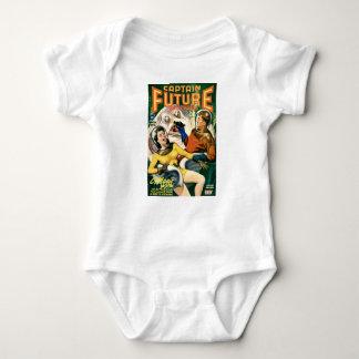 Body Para Bebê Capitão Futuro e a lua mágica
