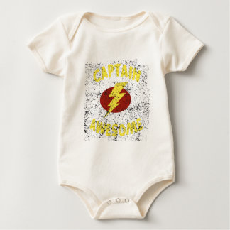 Body Para Bebê capitão impressionante