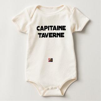 Body Para Bebê CAPITÃO TABERNA - Jogos de palavras - François