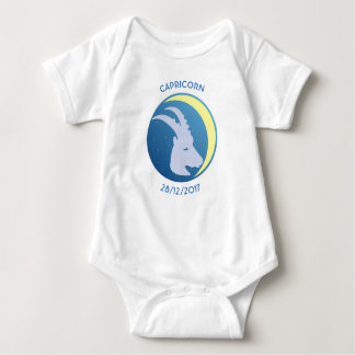 Body Para Bebê Capricórnio da veste do bebê do sinal da estrela