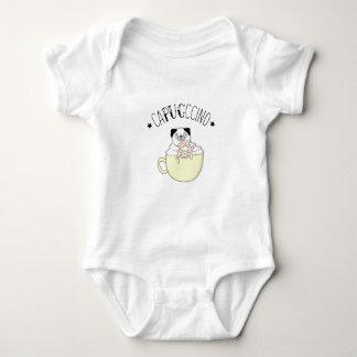 Body Para Bebê CaPUGccino bonito super! Pugs & café, que outro?