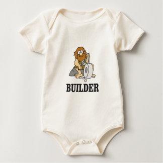 Body Para Bebê cara adiantada do construtor