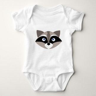 Body Para Bebê Cara bonito do guaxinim