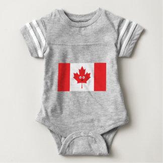 Body Para Bebê Cara canadense da folha de bordo