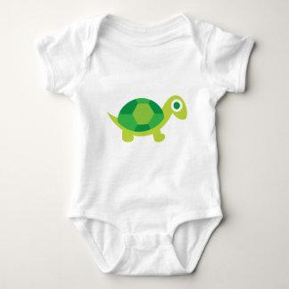 Body Para Bebê Cara da tartaruga de Lil