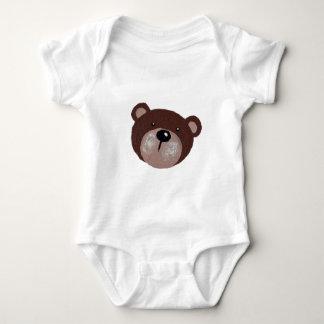 Body Para Bebê Cara do urso