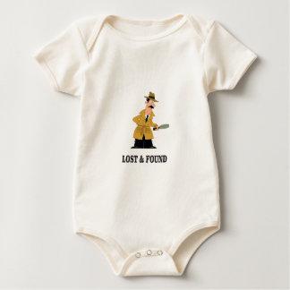 Body Para Bebê cara perdida e encontrada