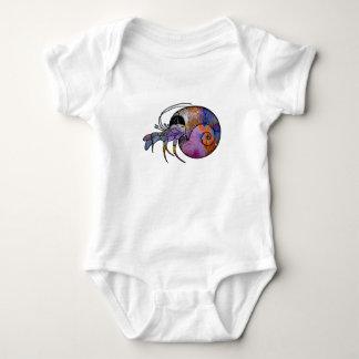 Body Para Bebê Caranguejo de eremita