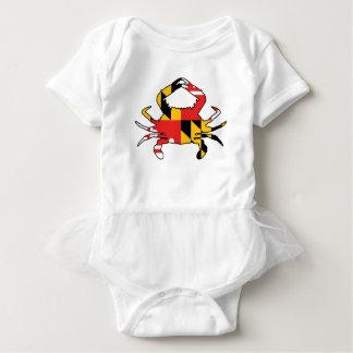 Body Para Bebê Caranguejo de Maryland