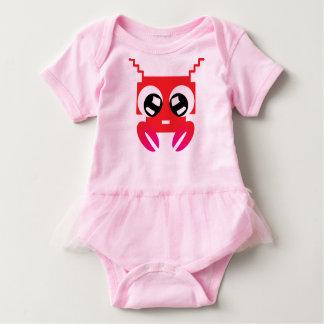Body Para Bebê Caranguejo vermelho bonito
