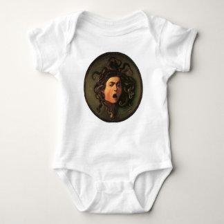 Body Para Bebê Caravaggio - Medusa - trabalhos de arte italianos