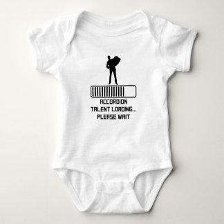 Body Para Bebê Carga do talento do acordeão
