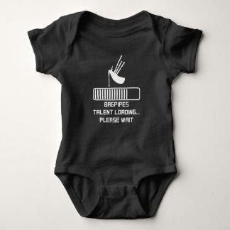 Body Para Bebê Carga do talento dos Bagpipes