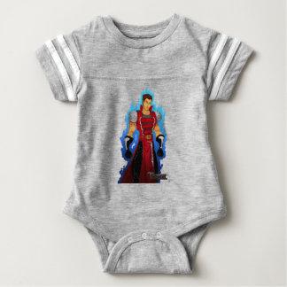 Body Para Bebê Carmesins reais