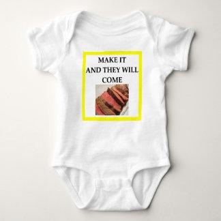 Body Para Bebê carne assada