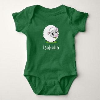 Body Para Bebê Carneiros woolly brancos bonitos e peluches do