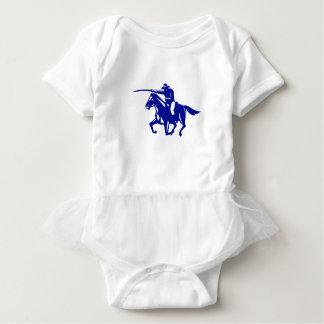 Body Para Bebê Carregamento americano da cavalaria retro