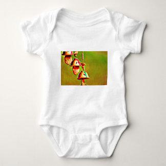 Body Para Bebê Carrilhões de madeira coloridos