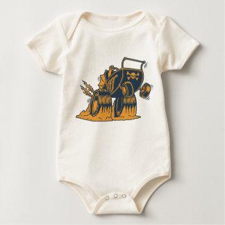 Body Para Bebê Carrinho de criança do rolo alto