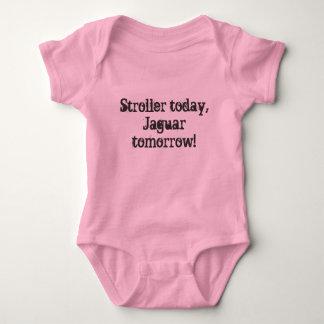 Body Para Bebê Carrinho de criança hoje, Jaguar amanhã!