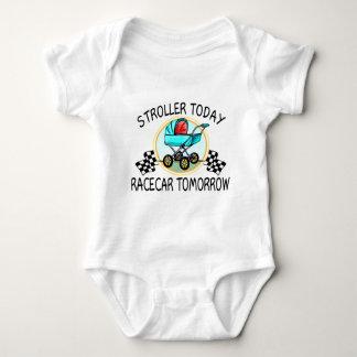Body Para Bebê Carrinho de criança hoje, Racecar amanhã