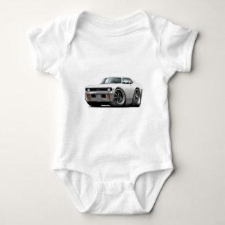 Body Para Bebê Carro 1971-72 do branco da nova