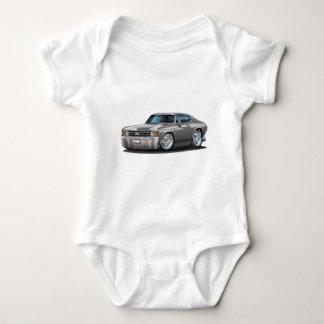 Body Para Bebê Carro 1971-72 do cinza de Chevelle