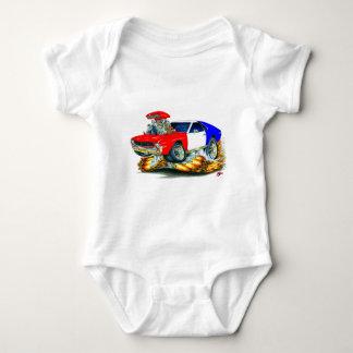 Body Para Bebê Carro de AMX RedWhiteBlue