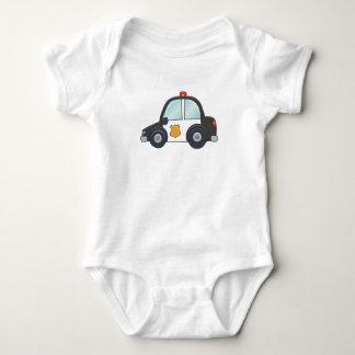 Body Para Bebê Carro de polícia customizável bonito