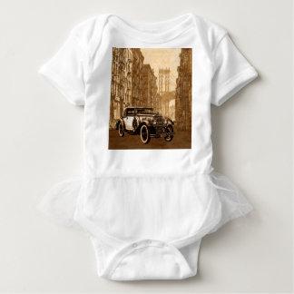 Body Para Bebê Carro velho do vintage
