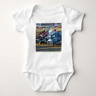 Body Para Bebê Carros de corridas