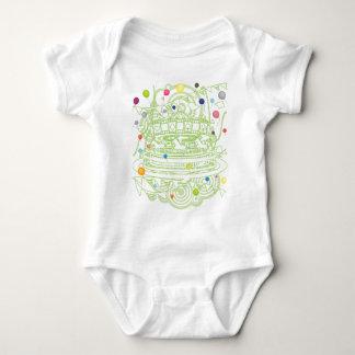 Body Para Bebê Carrossel