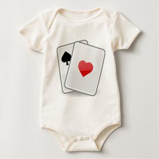 Body Para Bebê Cartões de jogo