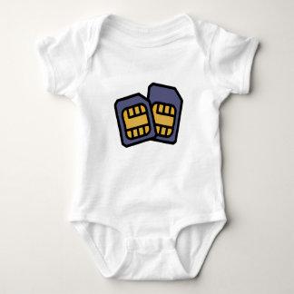 Body Para Bebê Cartões de SIM