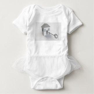 Body Para Bebê Casa chave, mediador imobiliário, vendendo