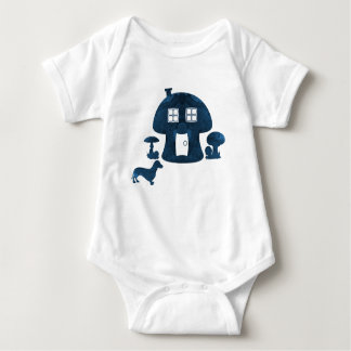 Body Para Bebê Casa do cogumelo